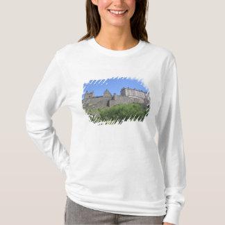 T-shirt Vue de château d'Edimbourg, Edimbourg, Ecosse, 3
