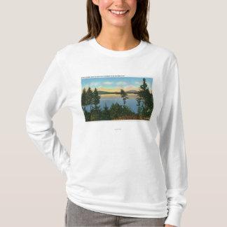 T-shirt Vue de club de Wawbeek de lac supérieur Saranac