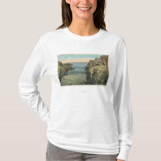 T-shirt Vue de crique de caillou