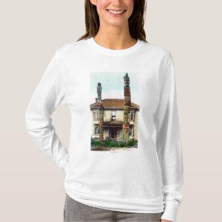 T-shirt Vue de deux TotempolesWrangell, AK