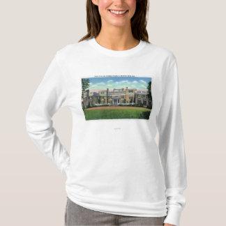 T-shirt Vue de Hyde Park de manoir de président FDR'S