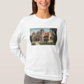T-shirt Vue de la bibliothèque publique de Carnegie