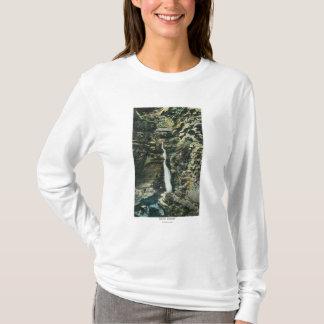 T-shirt Vue de la cascade centrale