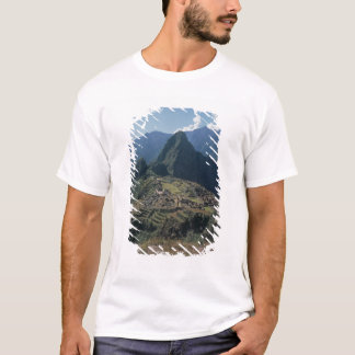 T-shirt Vue de la citadelle chez Machu Picchu