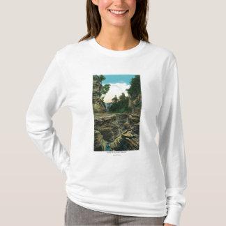 T-shirt Vue de la gorge du sud d'entrée
