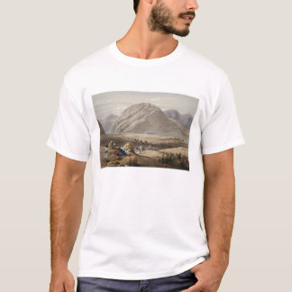 T-shirt Vue de la montagne de Baba-Naunee, des 'croquis i