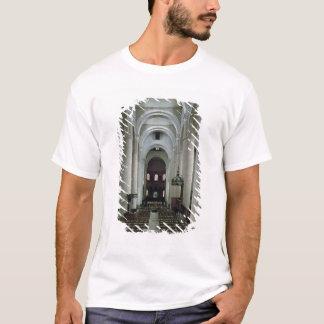 T-shirt Vue de la nef, regardant vers l'autel