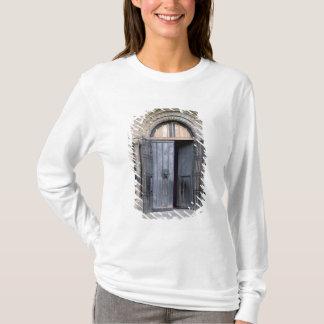 T-shirt Vue de la porte du nord de la cathédrale de Durham