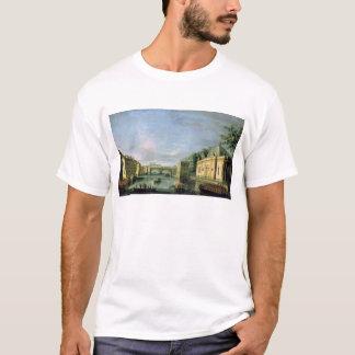 T-shirt Vue de la rivière de Fontanka à St Petersburg