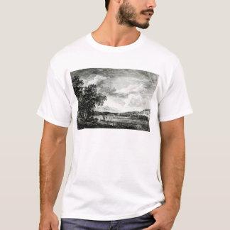 T-shirt Vue de la rivière du Hudson de Pakepsey