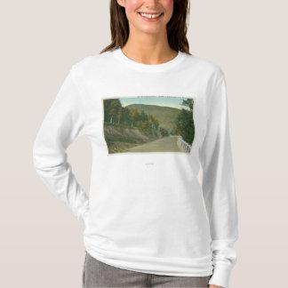 T-shirt Vue de la traînée de Mohican
