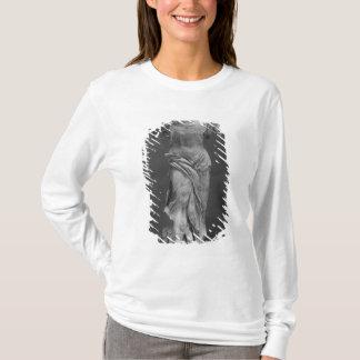 T-shirt Vue de la victoire Samothrace dans le musée de