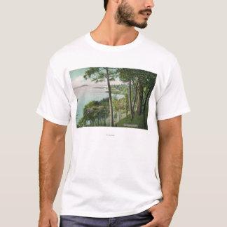 T-shirt Vue de lac Saratoga # 2