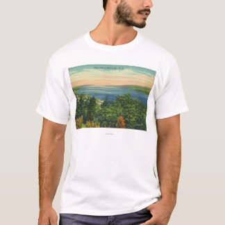 T-shirt Vue de lac seneca