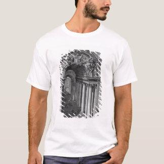 T-shirt Vue de l'escalier dans le Scala Regia