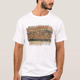 T-shirt Vue de Londres avec le cygne
