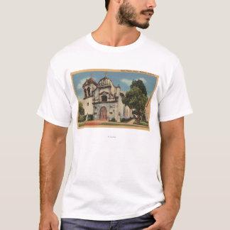 T-shirt Vue de Monterey, la Californie de Presido royal