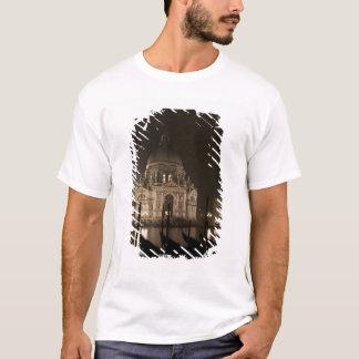 T-shirt Vue de nuit à travers l'eau de San Giorgio