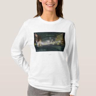 T-shirt Vue de nuit d'avenue Pacifique