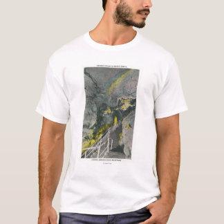 T-shirt Vue de pagoda chinoise dans le temple du titan