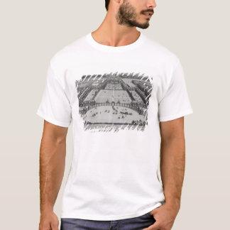 T-shirt Vue de perspective générale du château
