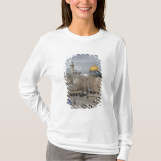 T-shirt Vue de plaza occidentale de mur, fin de