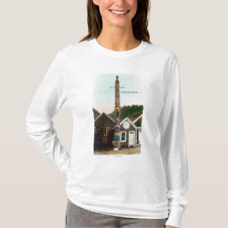 T-shirt Vue de Raven TotempoleWrangell, AK