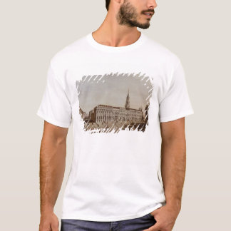 T-shirt Vue de rue de château
