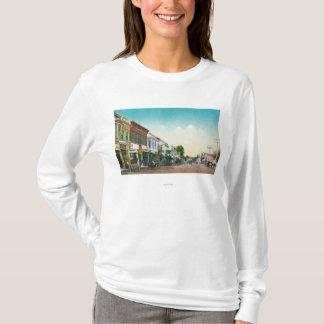 T-shirt Vue de StreetHealdsburg est, CA