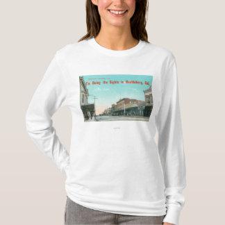 T-shirt Vue de StreetHealdsburg occidental, CA