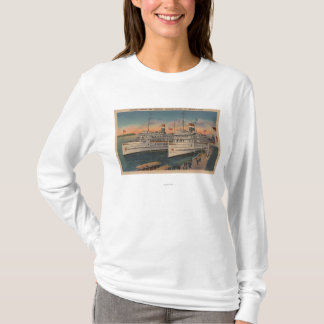 T-shirt Vue de Toronto et de Kingston sur St Lawrence
