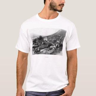 T-shirt Vue de ville photographie de Juneau, Alaska