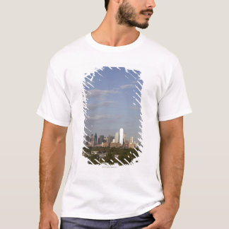 T-shirt Vue de Westside de l'horizon de Dallas