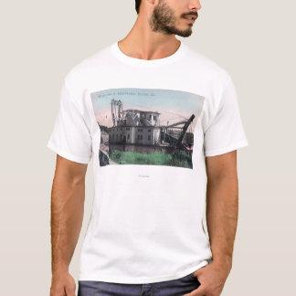 T-shirt Vue d'EL Oro # 2 or DredgerOroville, CA
