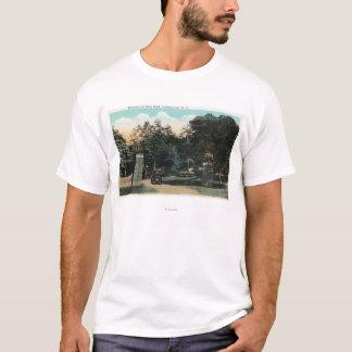 T-shirt Vue d'entrée de parc de Ross