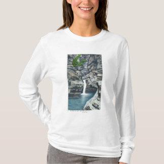 T-shirt Vue des automnes de chuchotement