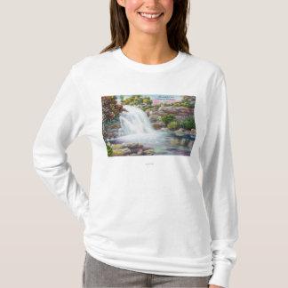 T-shirt Vue des automnes de Shinglekill