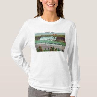 T-shirt Vue des automnes et de la côte d'Américain