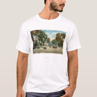 T-shirt Vue des avenues de parc et de Fairfield