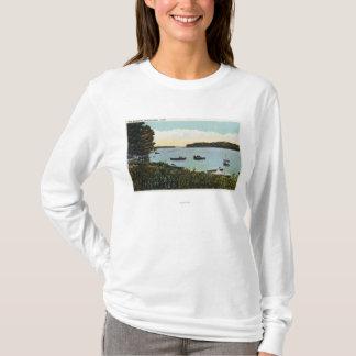 T-shirt Vue des bateaux aux étroits