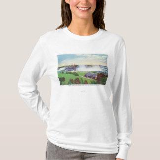 T-shirt Vue des chutes du Niagara de la commande d'Oakes