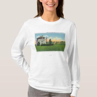 T-shirt Vue des corps De Garde dans le vieux château