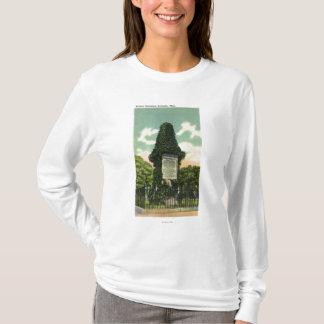 T-shirt Vue du monument des soldats