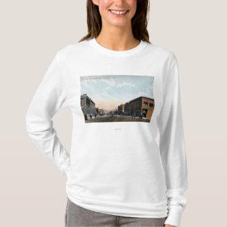 T-shirt Vue du nord d'avenue de Wenatchee