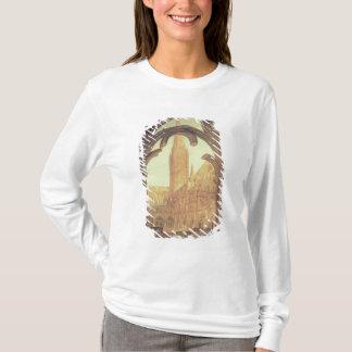 T-shirt Vue du sud de cathédrale de Salisbury du Cloiste