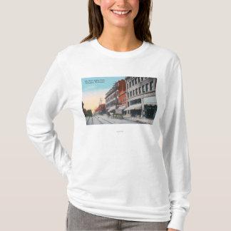 T-shirt Vue du sud de rue d'élans