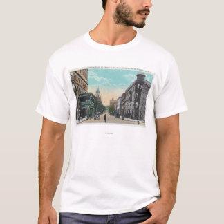 T-shirt Vue du sud de St de Chenango d'Arlington