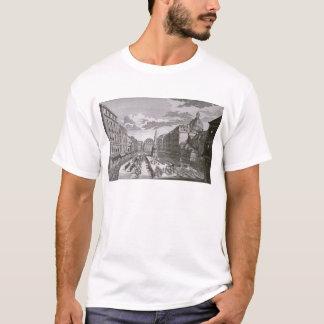 T-shirt Vue d'un cortège dans le Graben