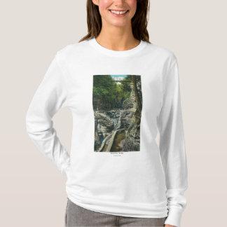 T-shirt Vue d'un pont suspendu