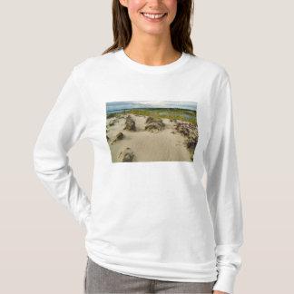 T-shirt Vue d'un sommet arénacé des lacs et des collines